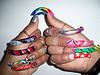 "pic from ""nail artist"" a la Flickr"